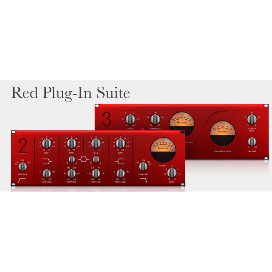 Suite Plug-In Red 3