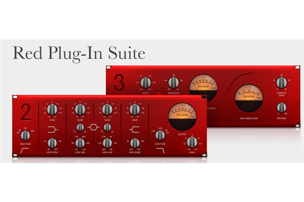 Focusrite - Suite Plug-In Red 3
