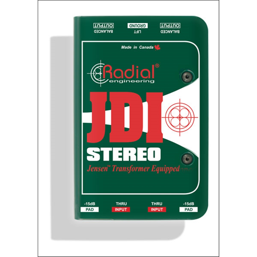 JDI Stereo Passive Direct Box
