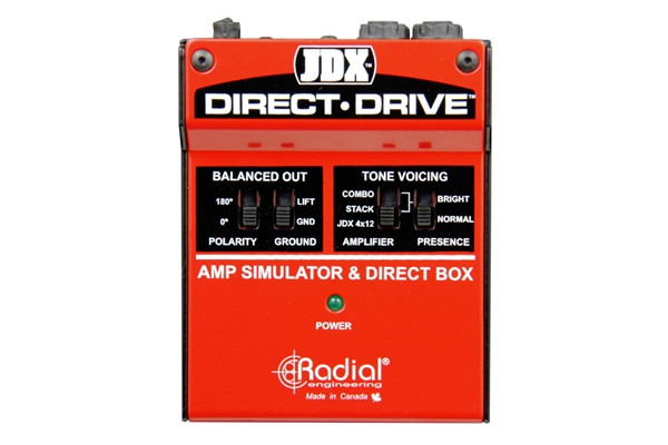 Radial - JDX Direct Drive