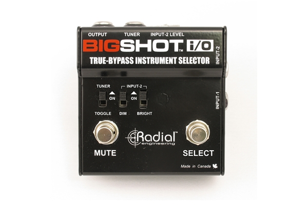 Radial Big Shot i/o