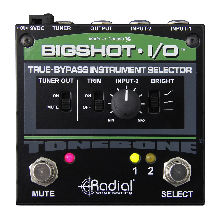 Big Shot I/O REV2