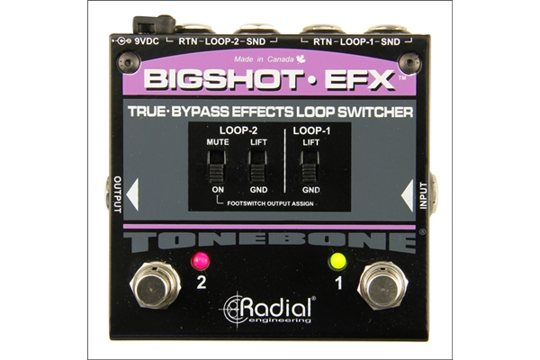 Radial Big Shot EFX REV2