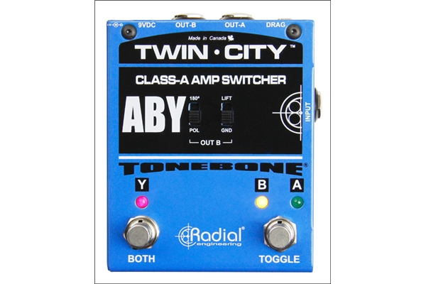 Radial - Twin-City Active ABY Switcher
