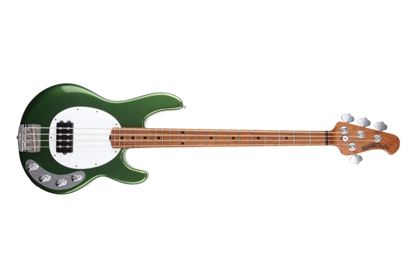 Music Man StingRay Special H Charging Green Tastiera Acero