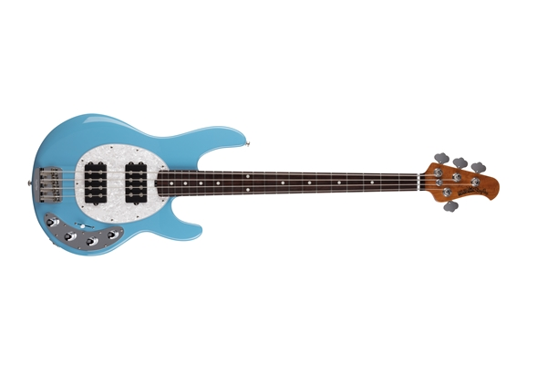 Music Man - StingRay Special HH Chopper Blue Tastiera Palissandro