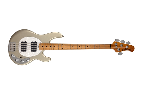Music Man - StingRay Special HH Ghostwood Tastiera Acero