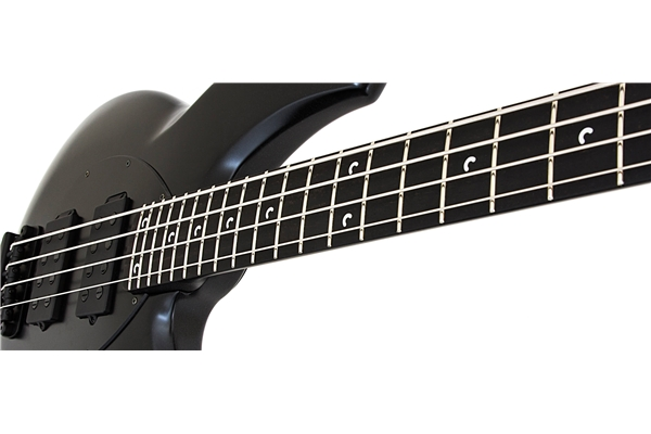 Music Man - Bongo 4 HH Fretted Stealth Black