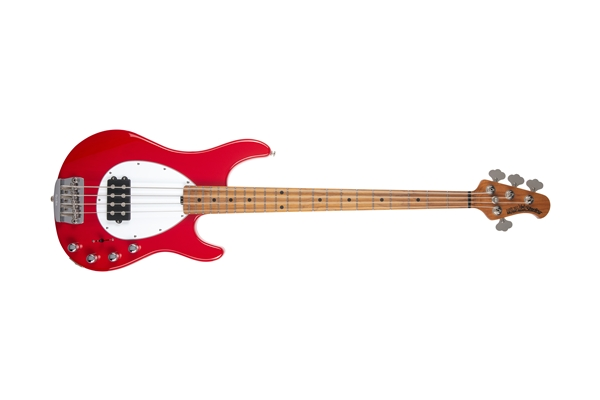 Music Man - Sterling 4 H Scarlet Red Tastiera Acero