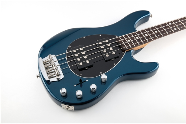 Music Man - Sterling 4 HH Vintage Blue Pearl Tastiera Palissandro
