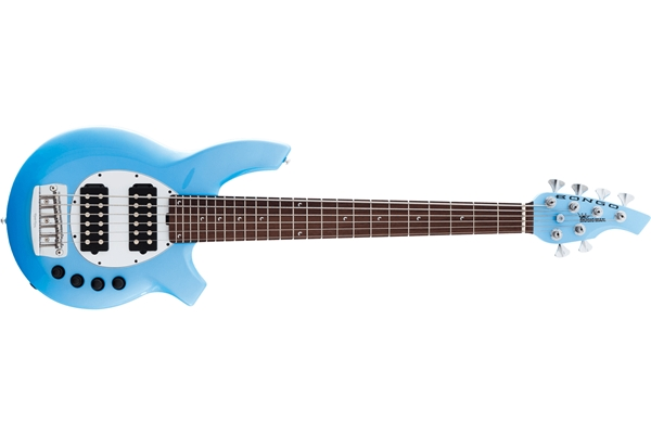 Music Man - Bongo 6 HH Fretted Sky Blue
