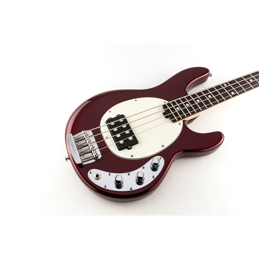 StingRay Short Scale 4 H Raspberry Pearl Tastiera Palissandro