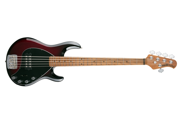 Music Man - StingRay Special 5 H Burnt Apple Tastiera Acero