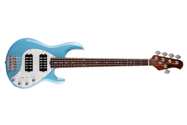 Music Man - StingRay Special 5 HH Chopper Blue Tastiera Palissandro