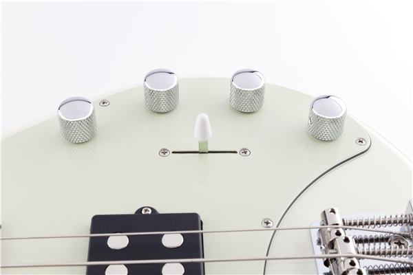 Music Man - StingRay Special 5 HH Ivory White Tastiera Acero