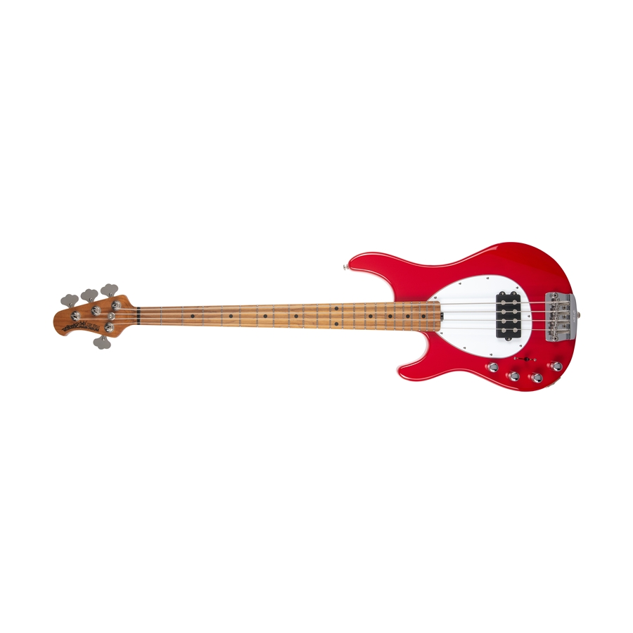 Sterling 4 H Scarlet Red Tastiera Acero Lefty