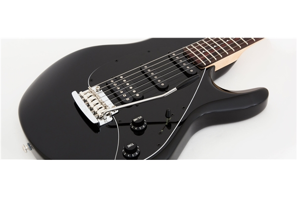 Music Man - Silhouette Special HSS tremolo Palissandro Black