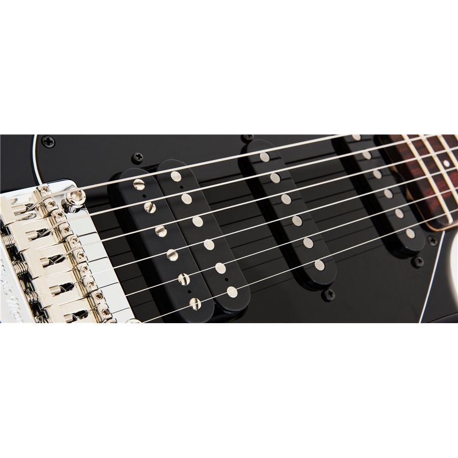 Silhouette Special HSS tremolo Palissandro Black
