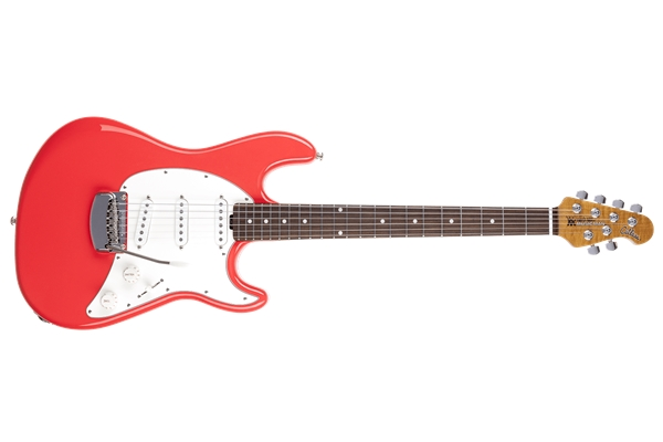 Music Man Cutlass RS SSS Coral Red Tastiera Palissandro