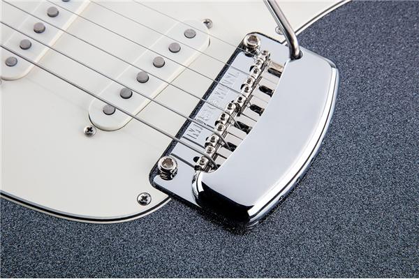 Music Man - Cutlass RS SSS Charcoal Sparkle Tastiera Palissandro