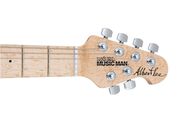 Music Man - Albert Lee SSS Tremolo Pink Burst