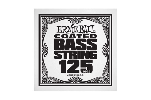 Ernie Ball - 0625 Coated Nickel Wound Bass .125