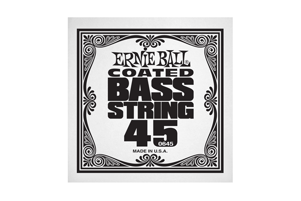 Ernie Ball - 0645 Coated Nickel Wound Bass .045