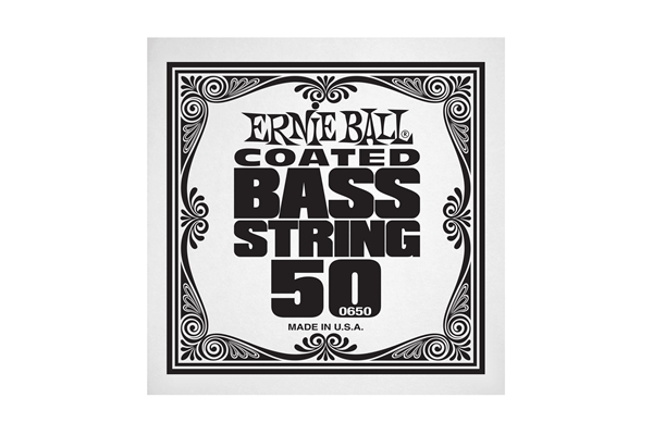 Ernie Ball - 0650 Coated Nickel Wound Bass .050