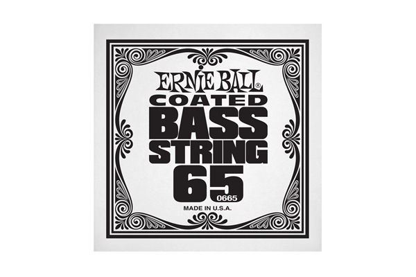 Ernie Ball - 0665 Coated Nickel Wound Bass .065