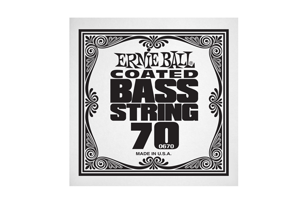 Ernie Ball - 0670 Coated Nickel Wound Bass .070