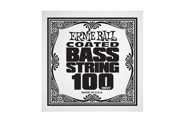 Ernie Ball - 0697 Coated Nickel Wound Bass .100