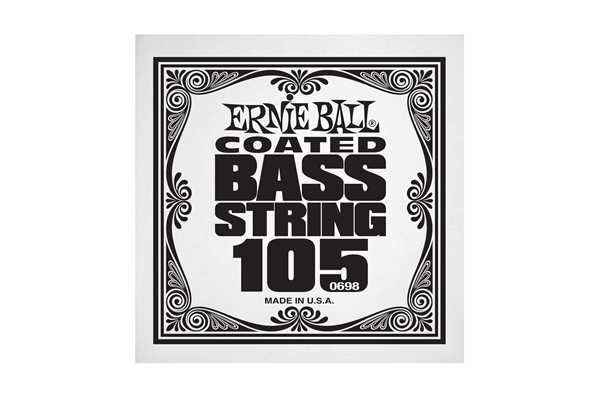Ernie Ball - 0698 Coated Nickel Wound Bass .105