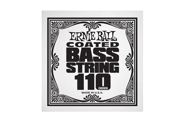 Ernie Ball - 0699 Coated Nickel Wound Bass .110