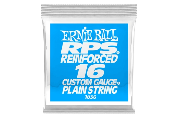 Ernie Ball - 1036 Brass Reinforced Plain .016
