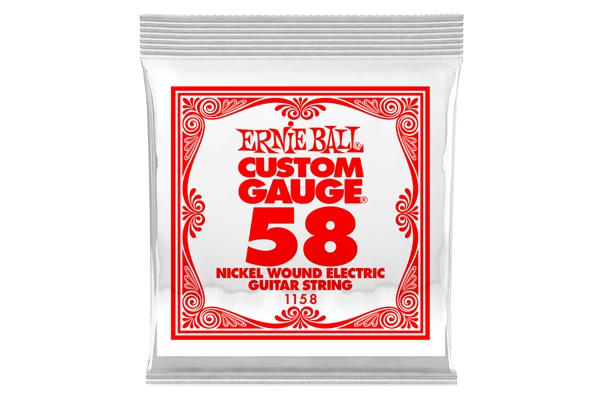 Ernie Ball - 1158 Nickel Wound .058