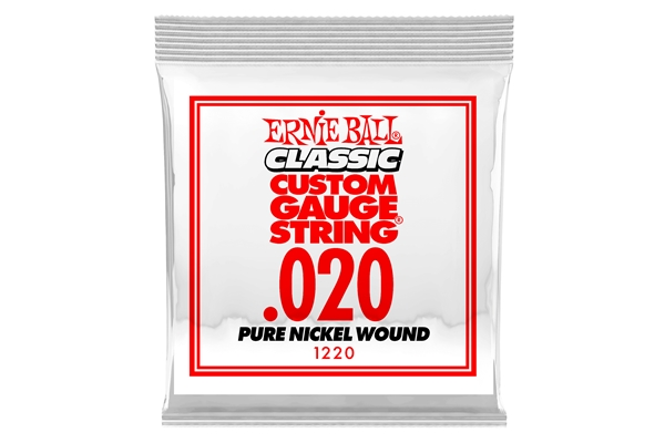 Ernie Ball - 1220 Pure Nickel Wound .020