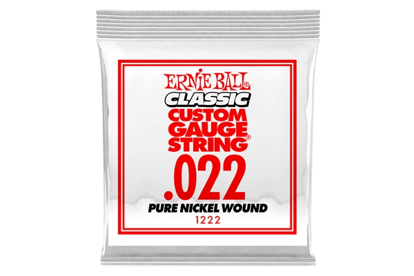 Ernie Ball - 1222 Pure Nickel Wound .022