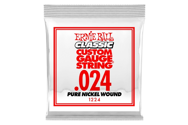 Ernie Ball - 1224 Pure Nickel Wound .024