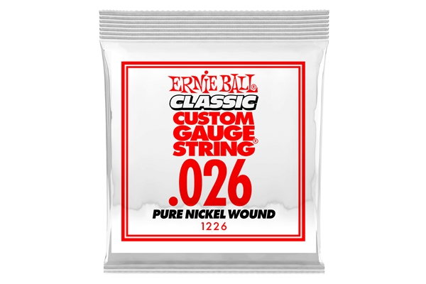 Ernie Ball - 1226 Pure Nickel Wound .026