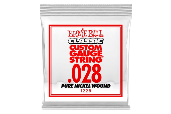 Ernie Ball - 1228 Pure Nickel Wound .028