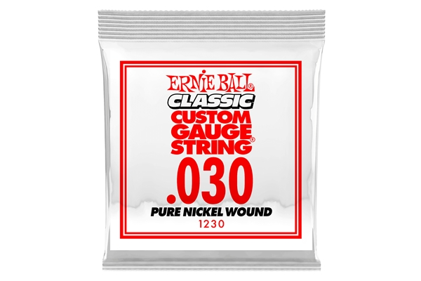 Ernie Ball - 1230 Pure Nickel Wound .030