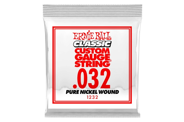 Ernie Ball - 1232 Pure Nickel Wound .032