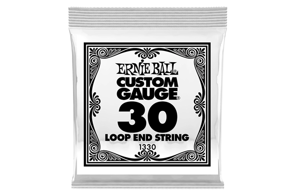 Ernie Ball - 1330 Stainless Steel Wound Loop End .030