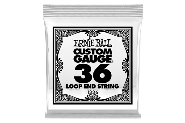 Ernie Ball - 1336 Stainless Steel Wound Loop End .036