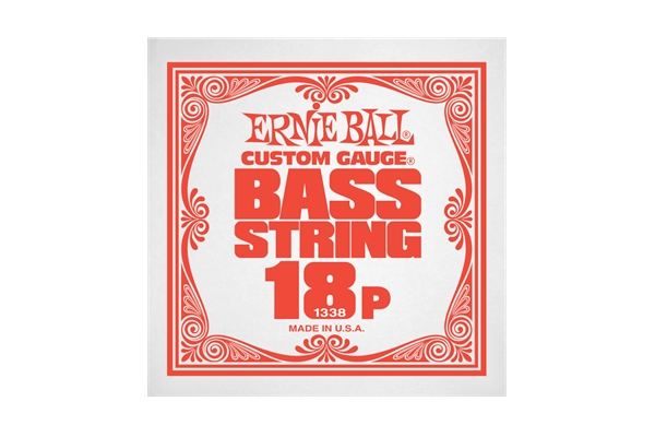 Ernie Ball - 1338 Stainless Steel Bass .018