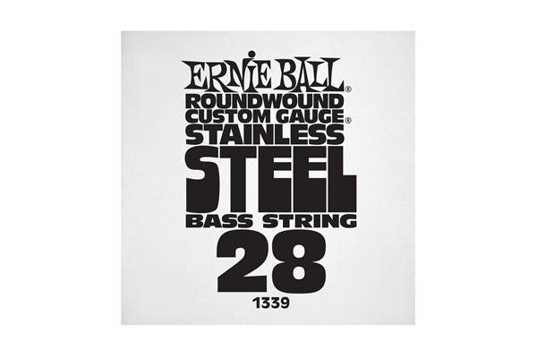 Ernie Ball - 1339 Stainless Steel Wound Bass .028