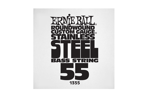Ernie Ball - 1355 Stainless Steel Wound Bass .055
