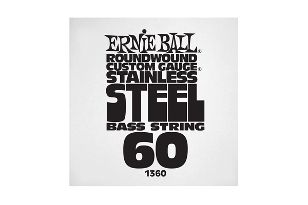 Ernie Ball - 1360 Stainless Steel Wound Bass .060