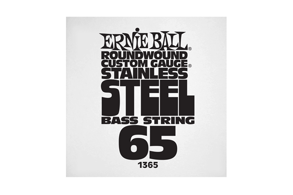 Ernie Ball - 1365 Stainless Steel Wound Bass .065