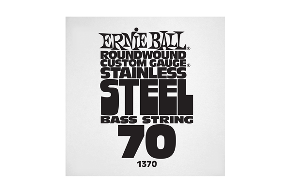 Ernie Ball - 1370 Stainless Steel Wound Bass .070